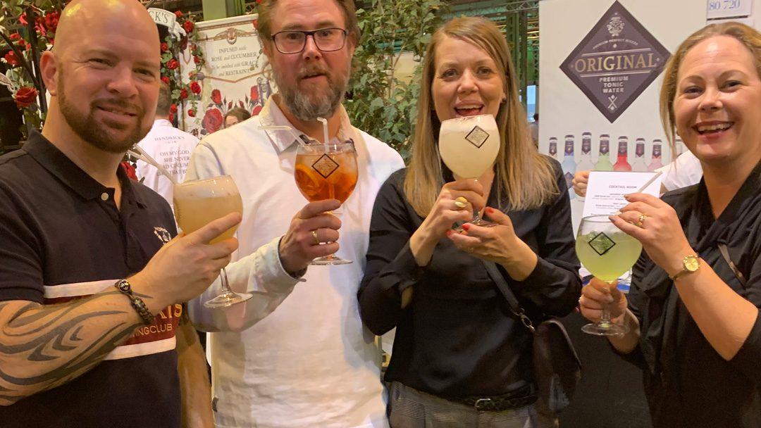 Original Tonic en el Copenhagen Gin Festival