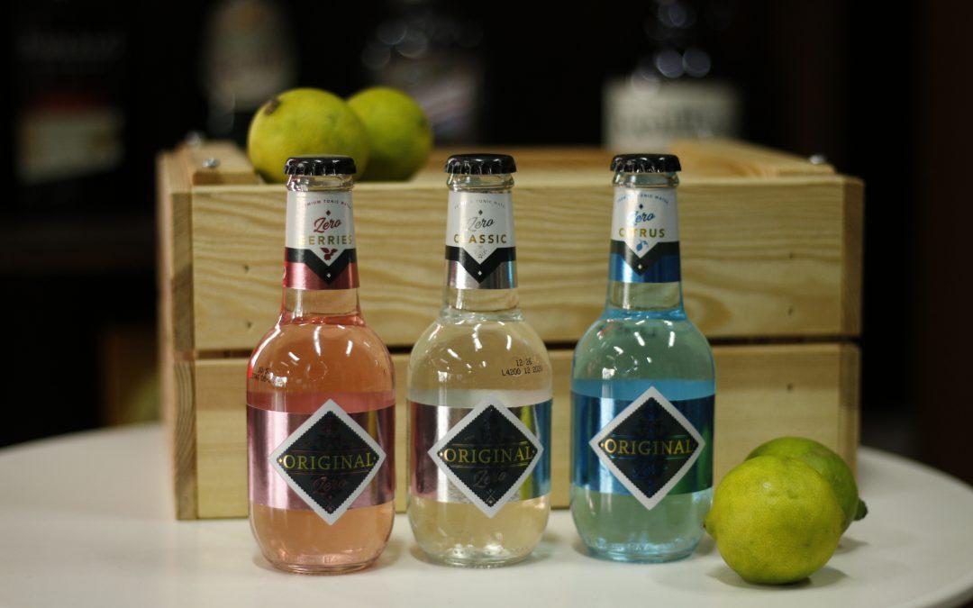 Original Tonic, ¡la única tónica Premium con una gama de colores y sabores sin azúcar!